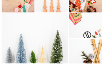 Vintage Holidays Stock Photo Collection