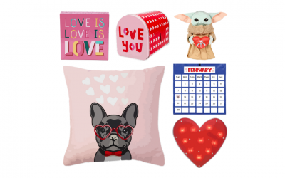 Virtual Classroom Valentine's Day Decor Collection
