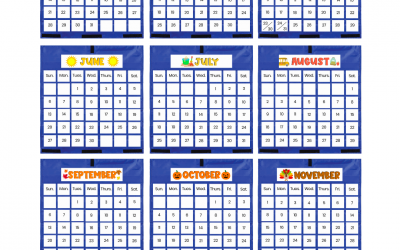 2020-2021 Virtual Classroom Calendars